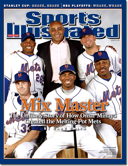 Stop putting the Mets on the cover Sports Illustrated!