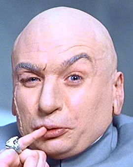 Dr Evil comes back from