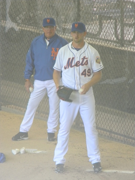 Jon Niese and Dan Warthen